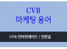 cvr conversion rate