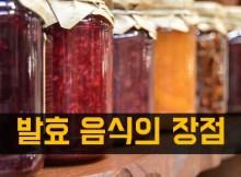 발효식품의 장점