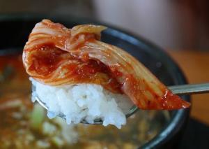 소머리 국밥과 김치